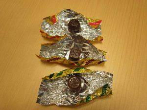 洋酒チョコレート3種類中身