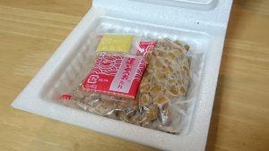 おうちコープ納豆の内容(たれが美味しい!)
